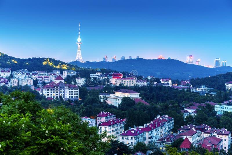 德国式历史大厦在青岛,中国 库存图片