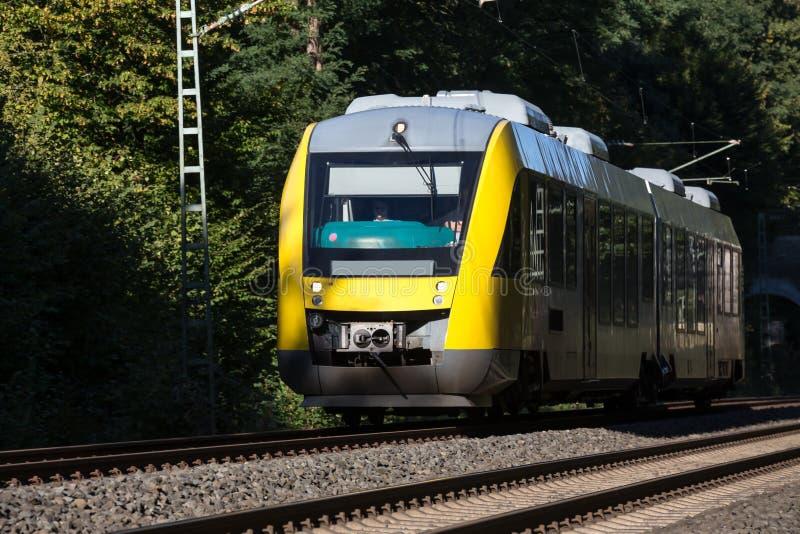 德国旅客列车 库存图片