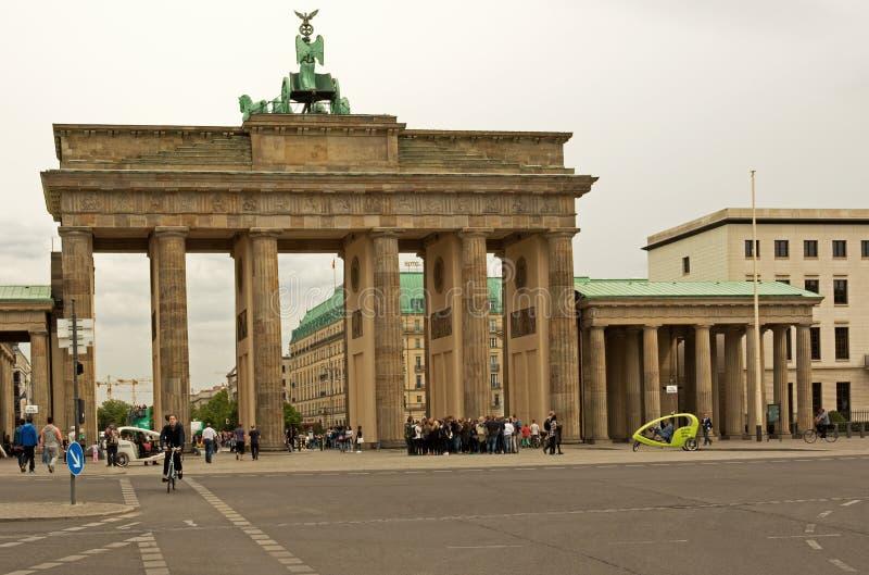德国柏林, 2016年5月 勃兰登堡门在柏林在2016年5月 免版税图库摄影