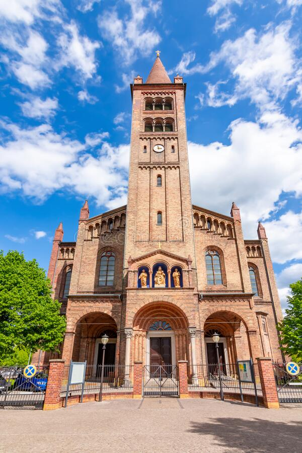 德国波茨坦圣彼得保罗教堂 库存图片