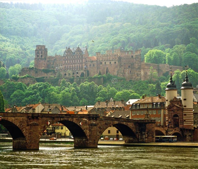 德国海得尔堡 库存图片