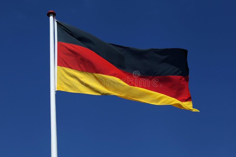 德国的旗子 免版税库存照片