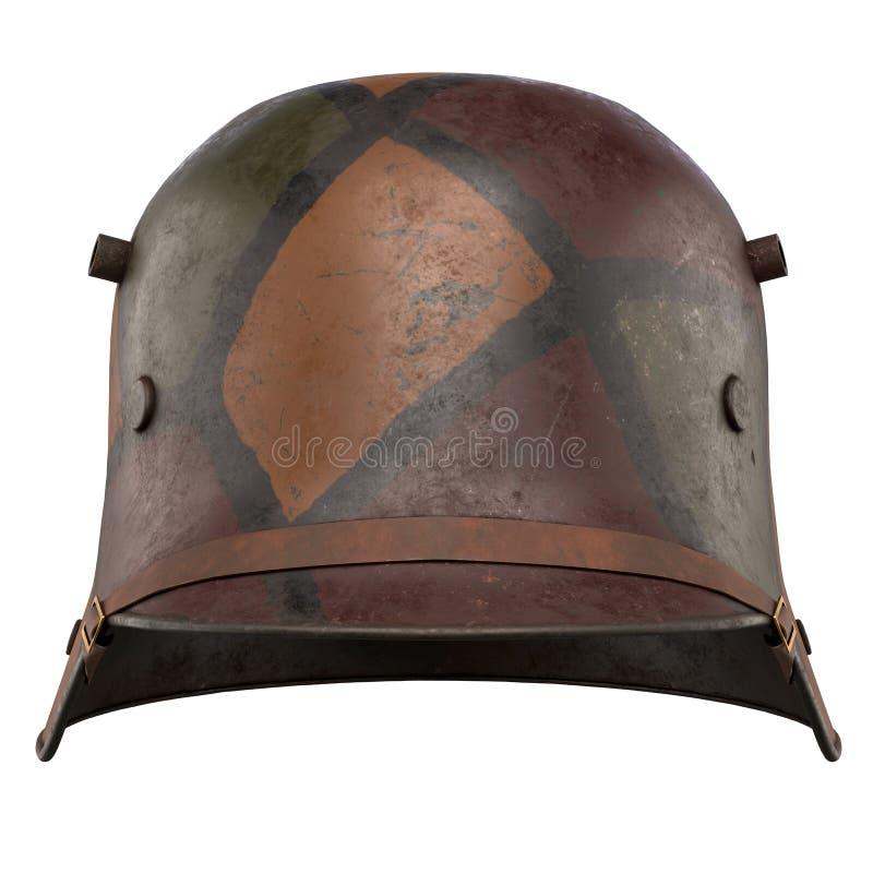 德国盔甲WWI Stahlhelm M1916 库存照片