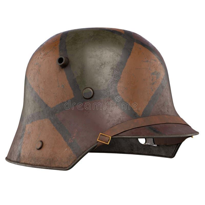 德国盔甲WWI Stahlhelm M1916 图库摄影