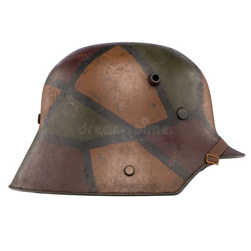 德国盔甲WWI Stahlhelm M1916 免版税图库摄影