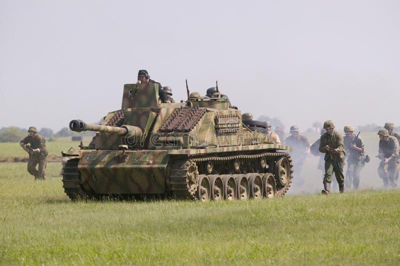 德国纳粹Panzer 库存图片