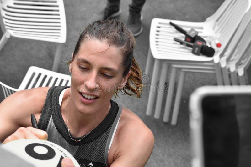 德国网球员 图库摄影