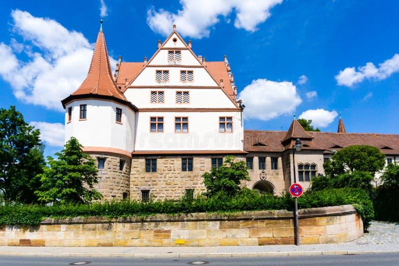 德国罗斯巴伐利亚城堡 免版税库存图片