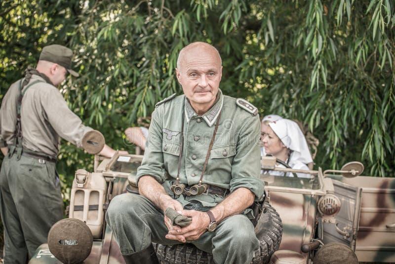 德国陆军中尉 图库摄影