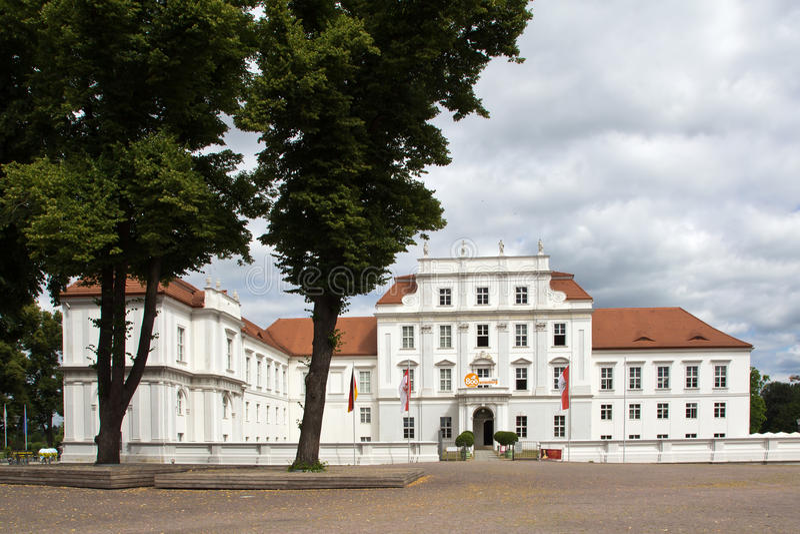 德国,城堡奥拉宁堡 库存图片