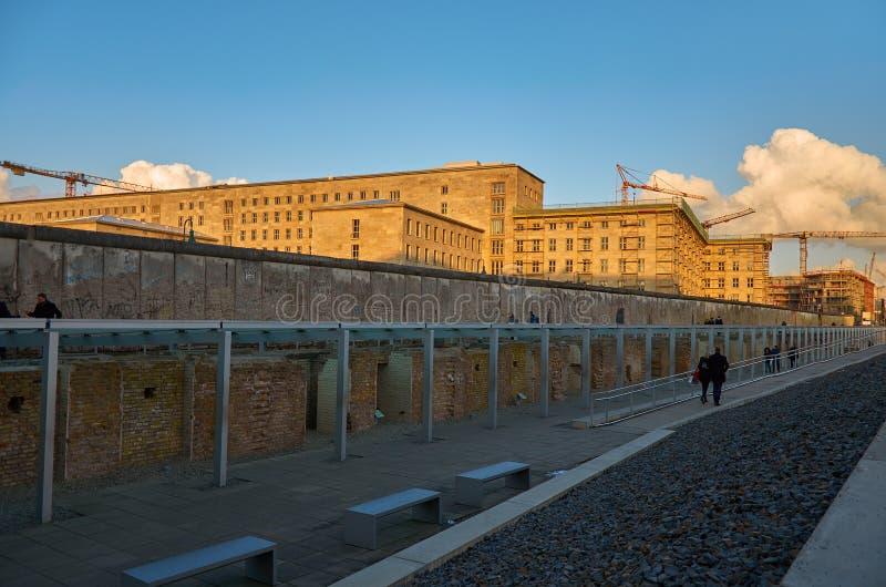 德国 柏林围墙的遗骸在柏林 2018年2月16日 免版税图库摄影