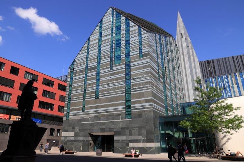 德国-莱比锡大学 免版税库存图片