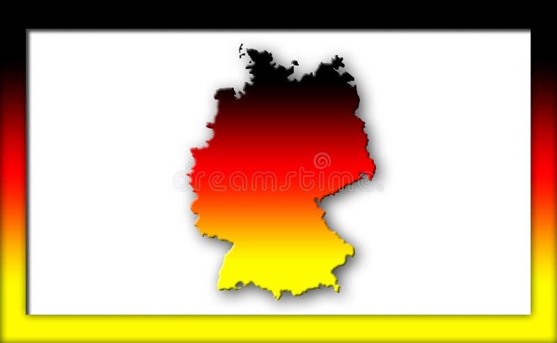 德国 库存例证