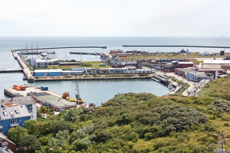 德国helgoland海岛 免版税库存图片