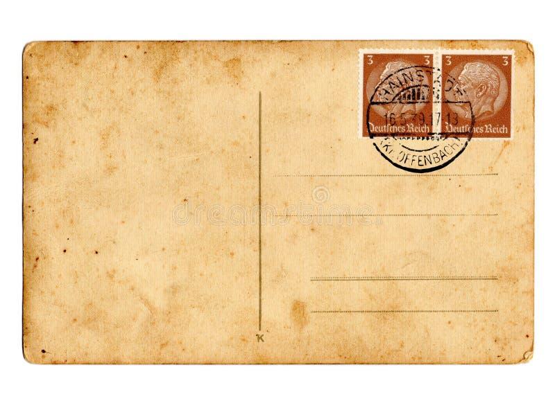德国hindenburg明信片德国政府 库存图片