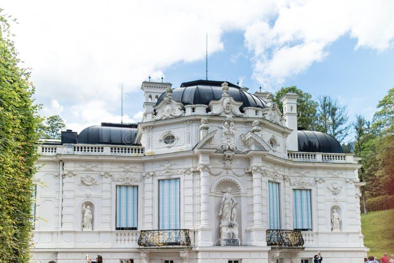 03德国linderhof宫殿 免版税库存照片