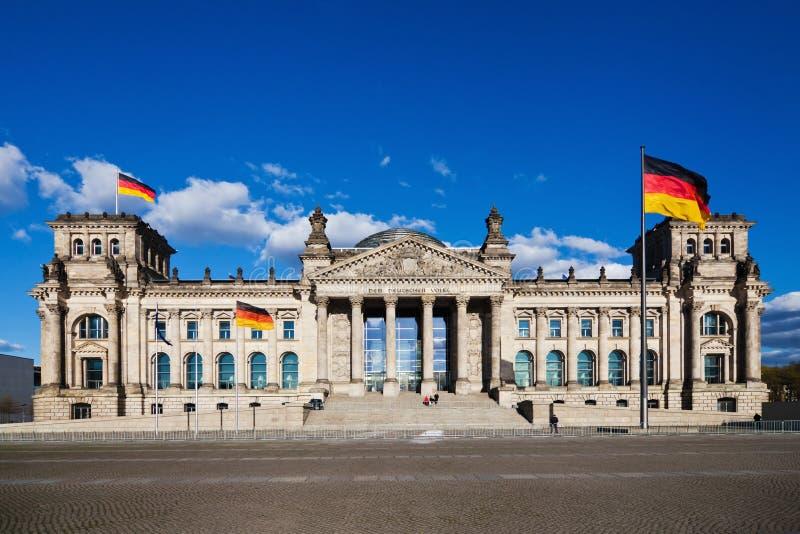 德国reichstag 库存照片