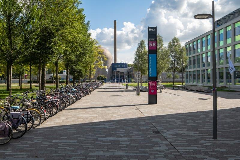 德尔福特大学反应器学院,荷兰 免版税库存图片