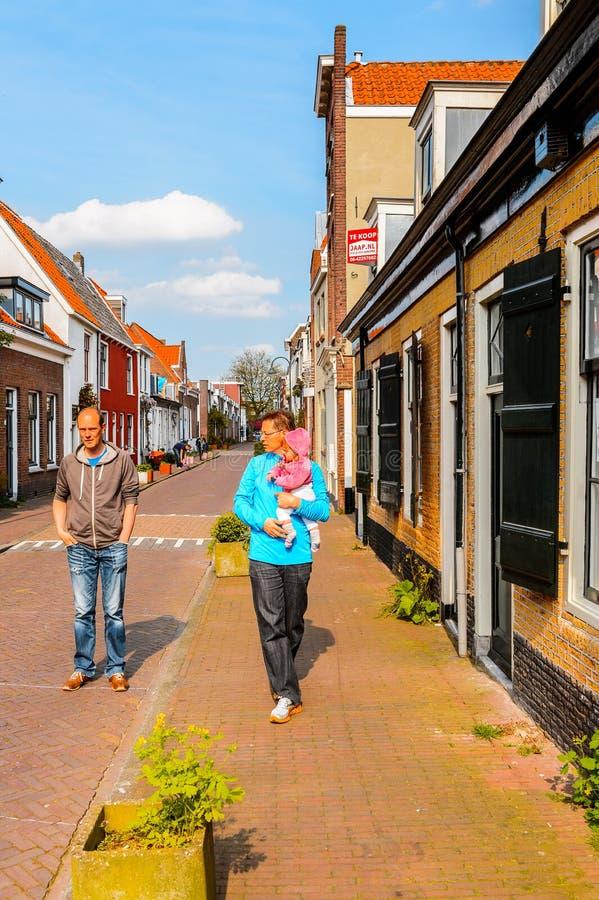 德尔福特,荷兰建筑学  免版税库存照片