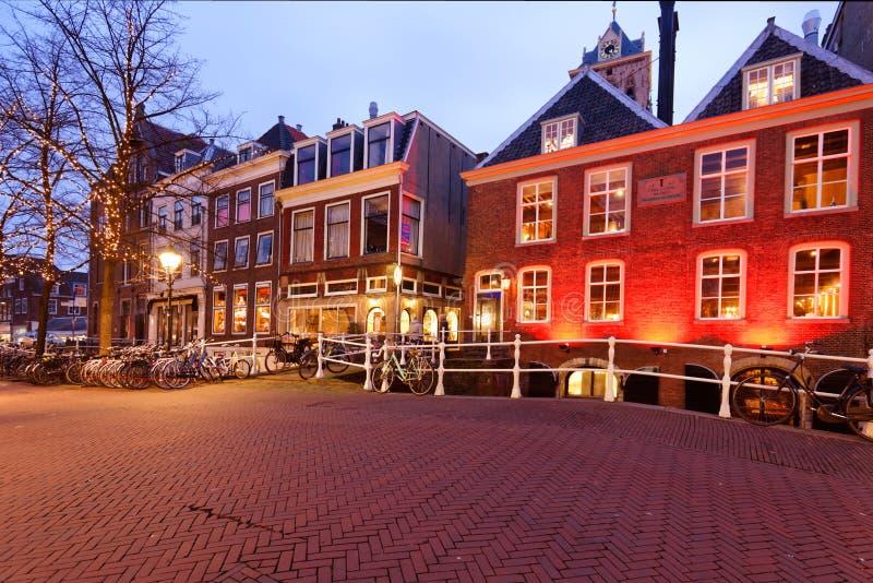德尔福特,荷兰老镇 免版税图库摄影
