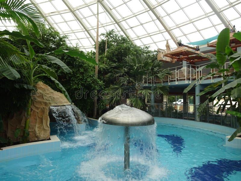 德布勒森是匈牙利的一座漂亮城市,设有良好的温泉浴场 免版税库存图片