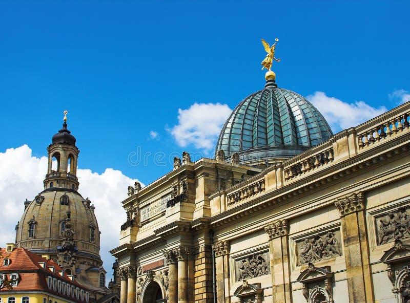 德累斯顿大学 免版税图库摄影