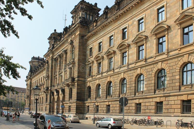 德累斯顿德国的历史的中心 库存图片
