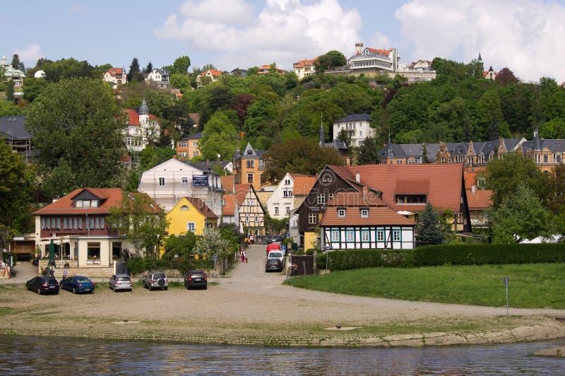 德累斯顿的郊区 免版税库存图片