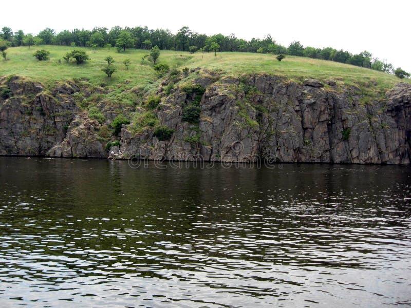 德聂伯级河 乌克兰 免版税库存图片