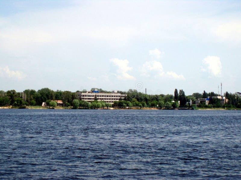德聂伯级河 乌克兰 库存图片