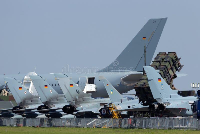 德语空军队 库存照片