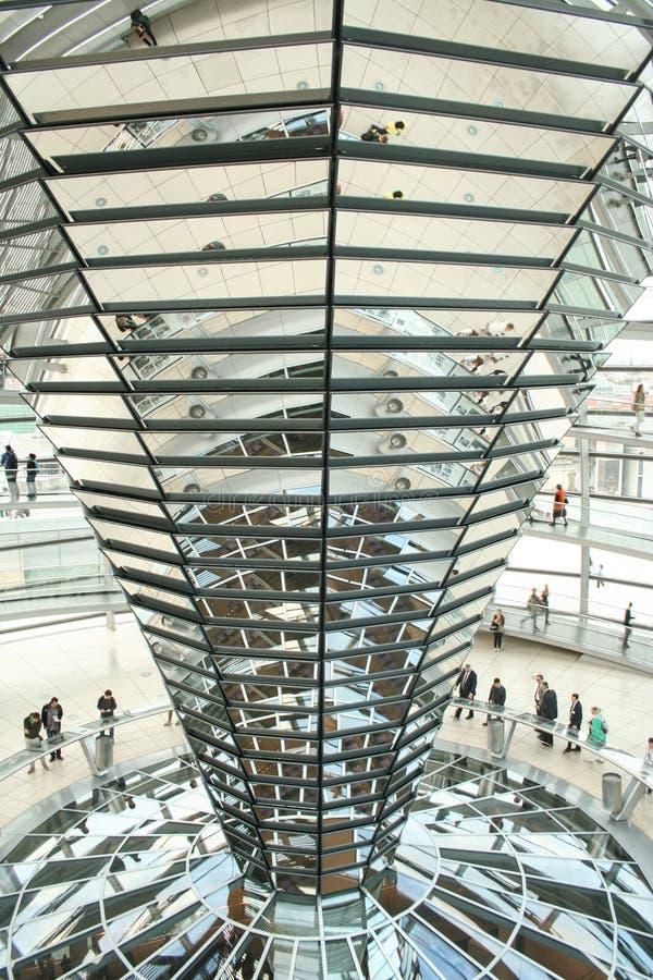 德语联邦议会圆顶  库存照片