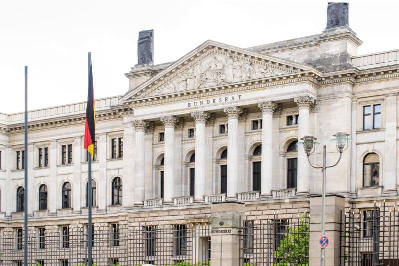 德语西德参议院 联邦委员会 柏林德国 免版税库存照片
