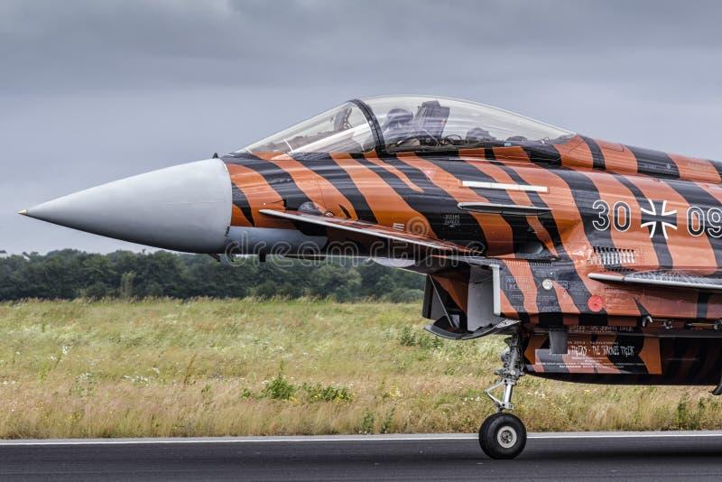 德语Eurofighter 免版税图库摄影