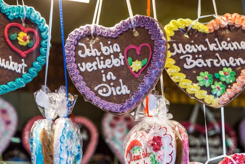 德语Lebkuchen :原物 免版税库存图片