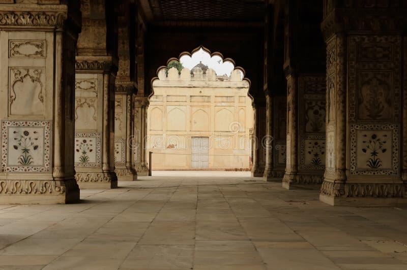 德里堡垒印度 免版税库存图片