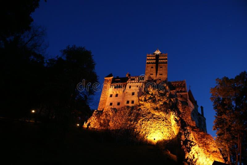 德雷库拉S城堡-城堡麸皮Törzburg 库存图片