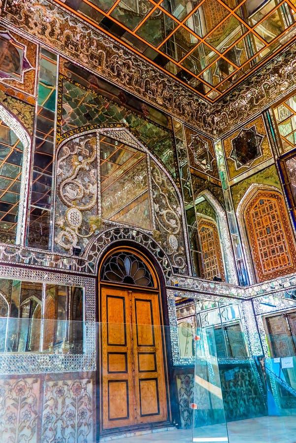 德黑兰戈莱斯坦宫殿03 免版税图库摄影