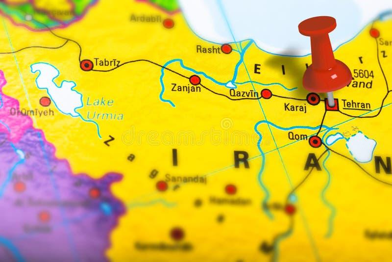 德黑兰伊朗地图图片