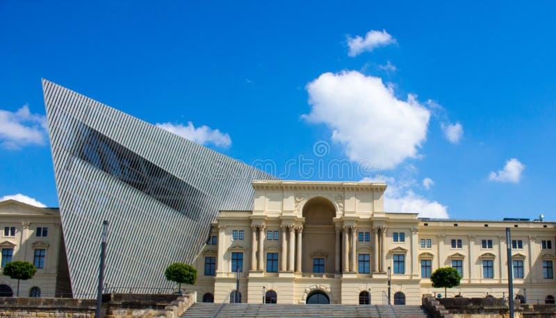 德累斯顿军事军队博物馆 免版税库存照片