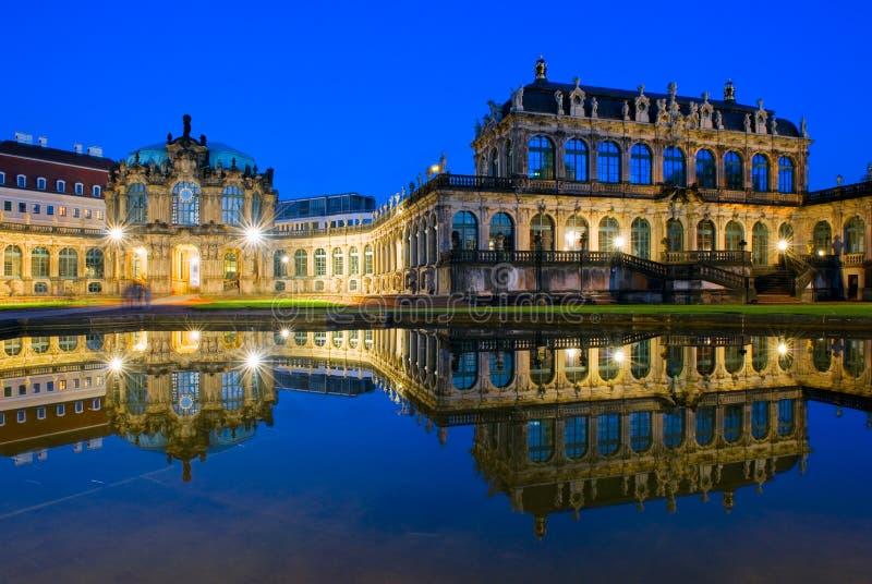德累斯顿德国宫殿zwinger 图库摄影