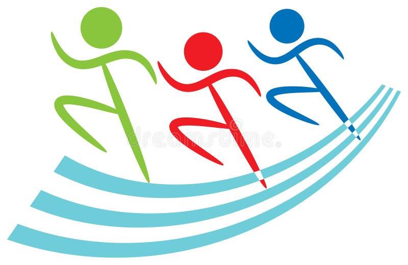 徽标体育运动 库存例证
