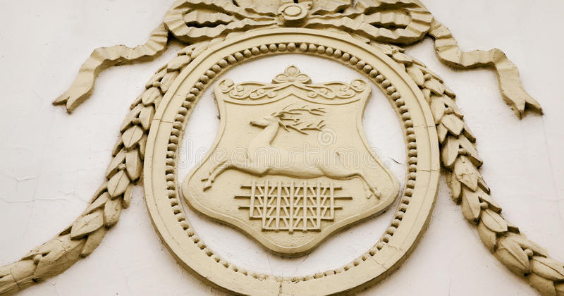 徽章哥罗德诺的 库存照片