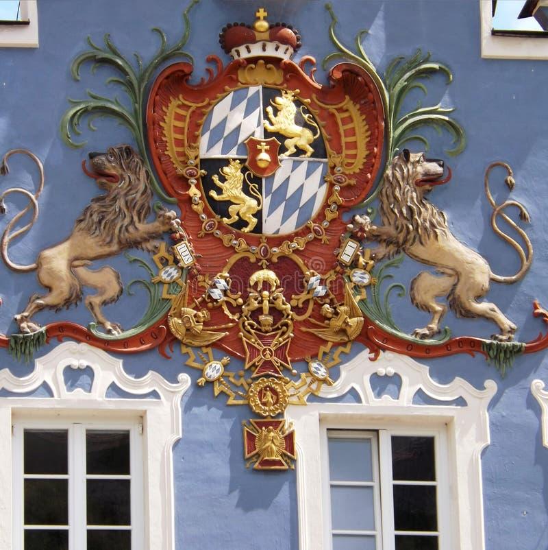 徽章在巴伐利亚 免版税库存照片