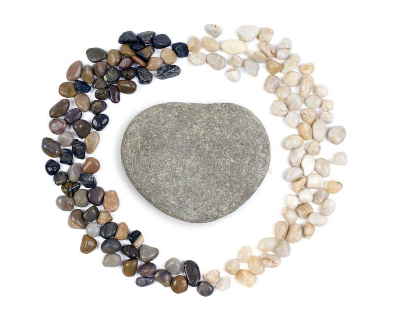 心形的石头 免版税图库摄影