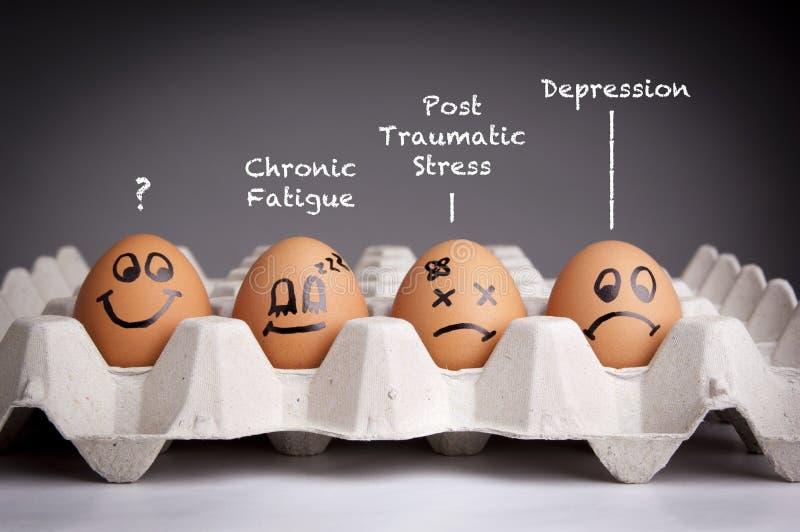 心理健康概念 图库摄影