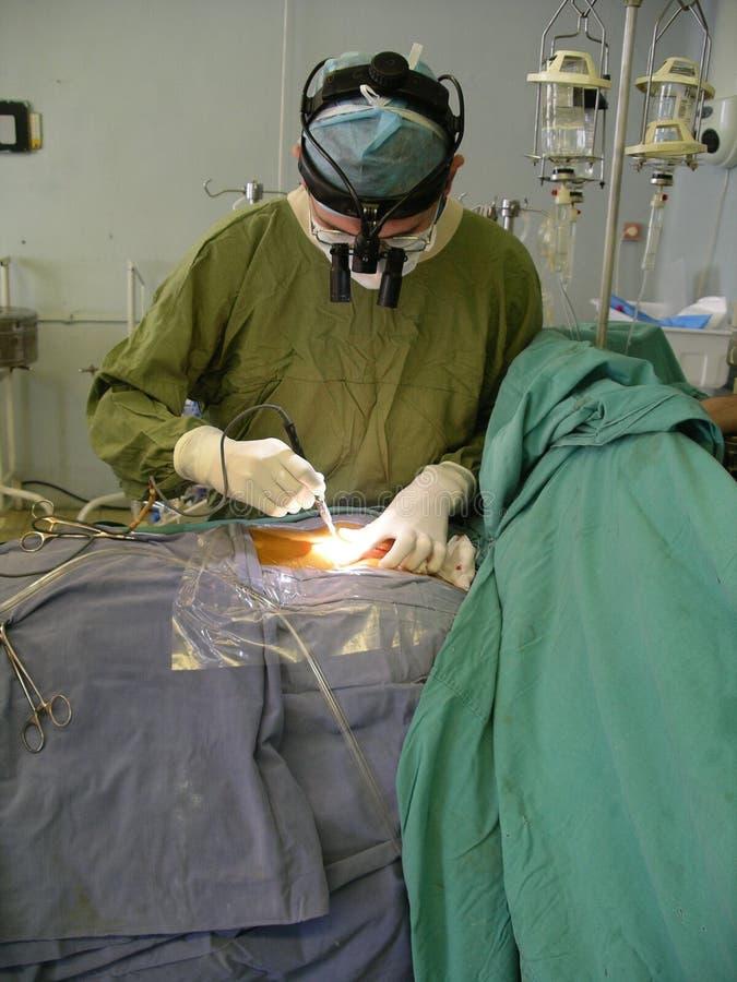 心脏外科医生 免版税库存照片