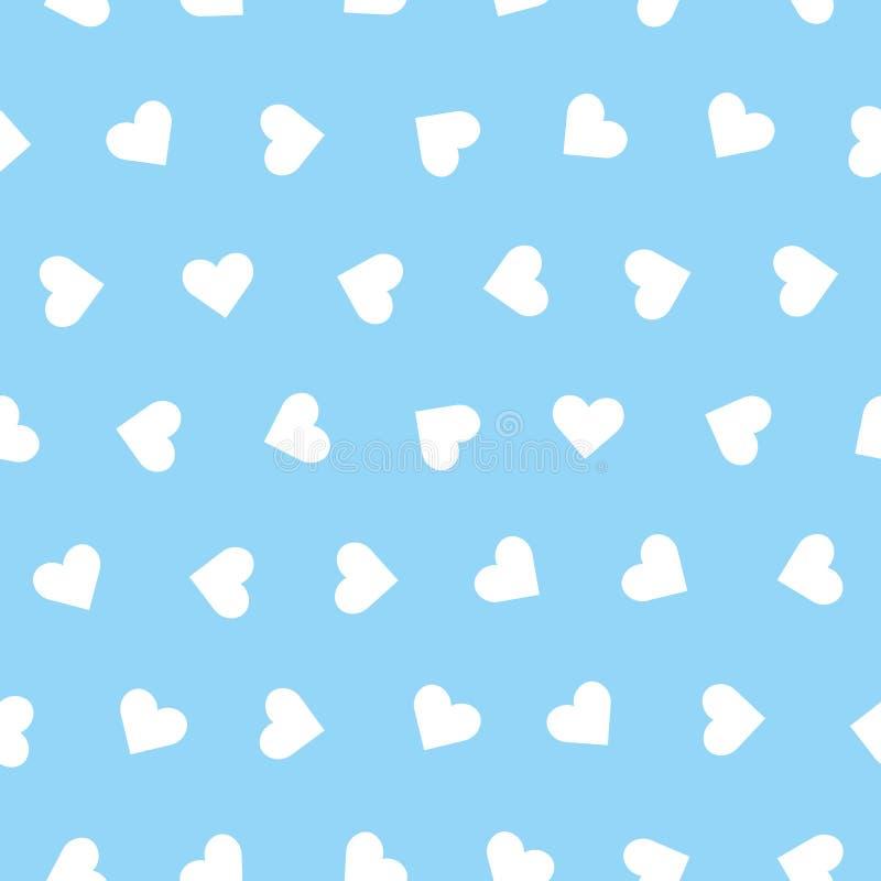 心脏导航无缝的样式 免版税图库摄影