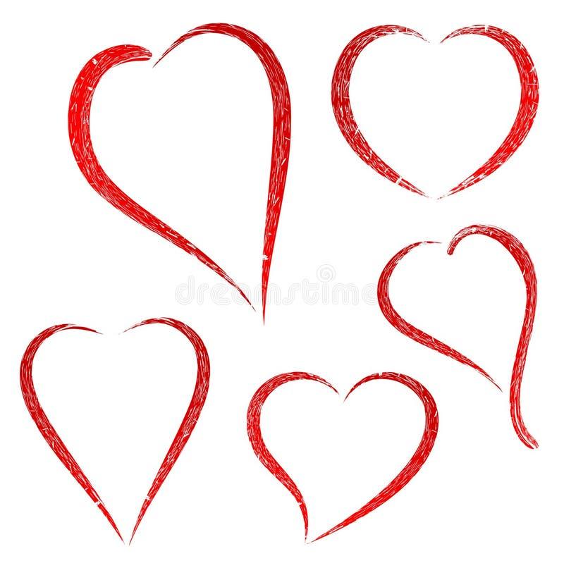 心脏标志 皇族释放例证