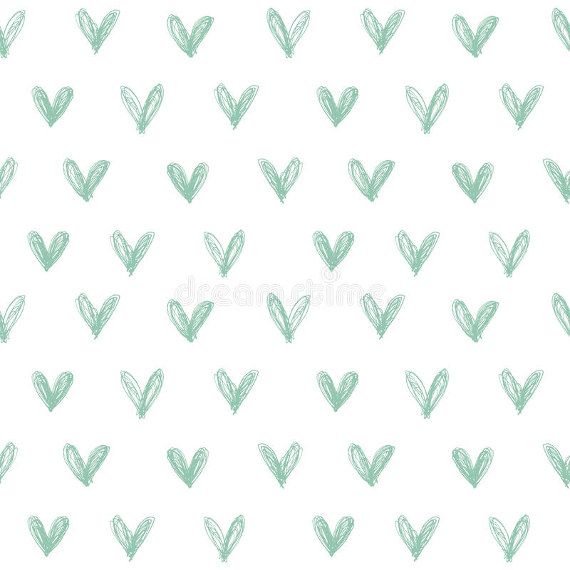 心脏样式 免版税库存照片